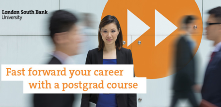 Why Study A Postgraduate Degree at London South Bank University?